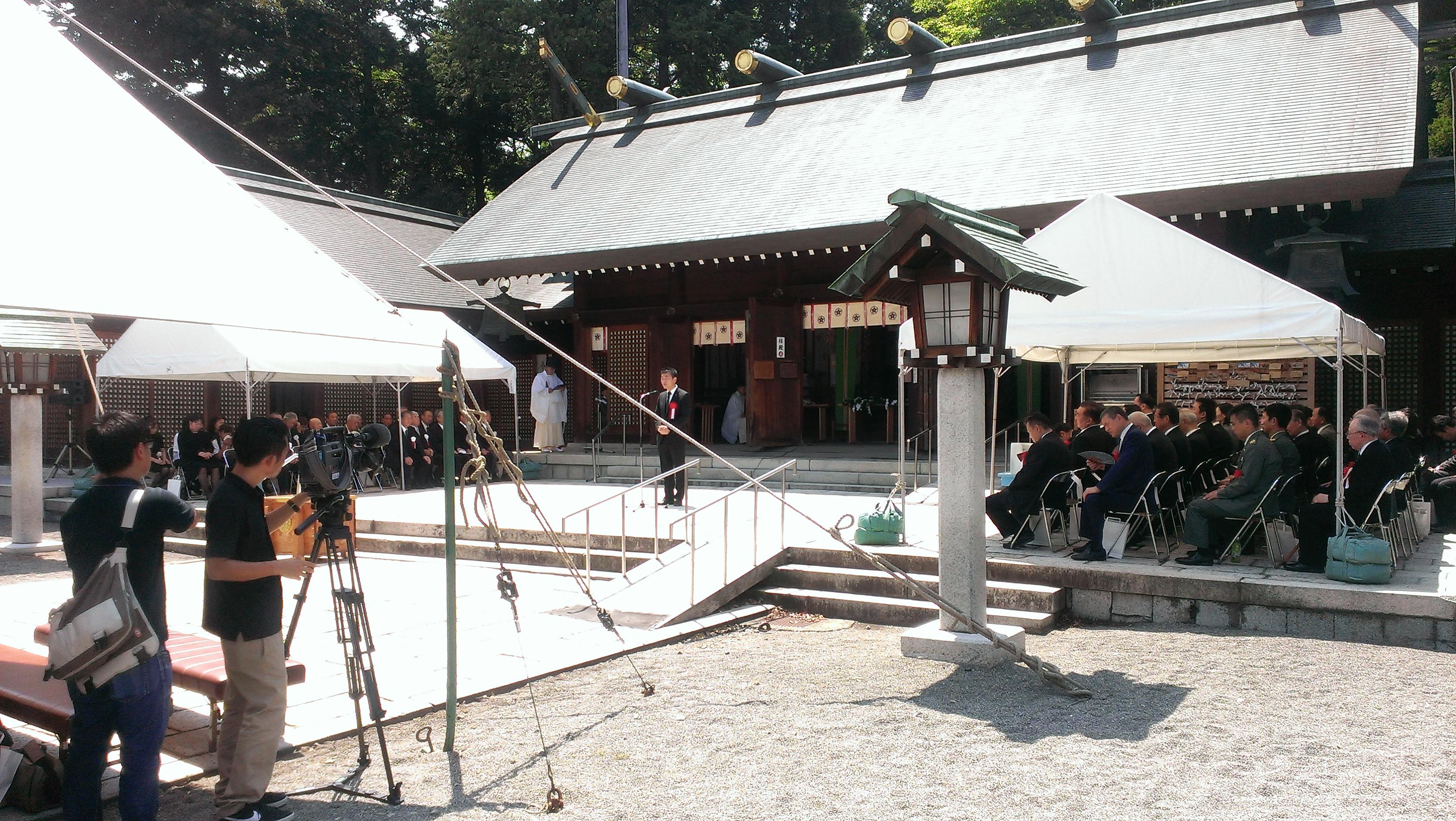 H25.8.15石川県戦没者追悼平和祈願祭
