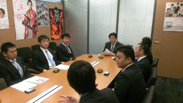 20141031菅家先生訪問