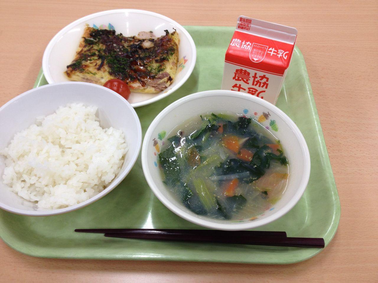 2013:02:18:2038蕪城小学校での給食