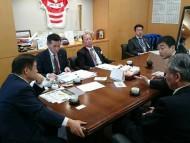スポーツ施設に関する陳情 遠藤五輪担当大臣申し入れ