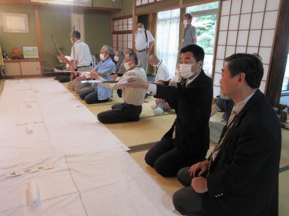 日本美術刀剣保存協会石川県支部6月例会