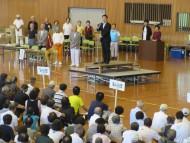 全国石川県人会連合会金沢大会式典