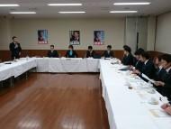 青年局と日本看護連盟による意見交換会