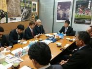 駐日タジキスタン大使との面会