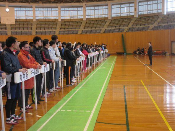 小松市綱引き大会開会式
