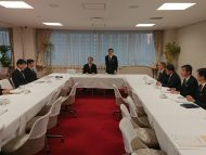 整備新幹線等鉄道調査会 新幹線車両所の活用により観光・産業振興PT 第3回会議
