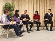 青年局 政策パンフレットVol.4に関する学生との座談会