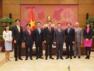 党青年局 ベトナム訪問